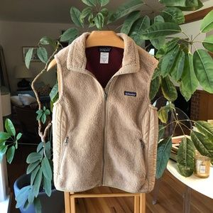 Patagonia Retro X Sherpa Fleece Vest Natural